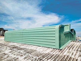 風碩專利自然通風設備 高效排熱、省電費