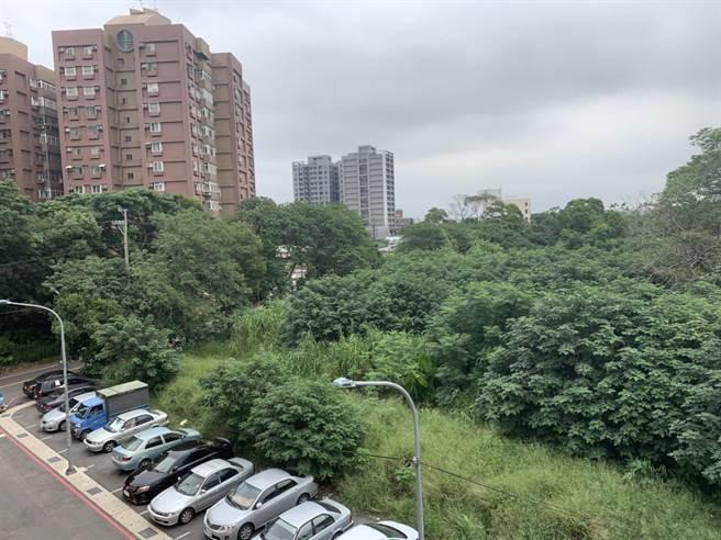 地方居民期盼的五福公園即將在9月底動工。(黃婉婷攝)
