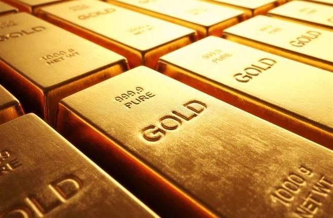 黃金價格近年驚驚漲,漲幅將近70%,不過最近金價卻大跌。(圖/達志影像)