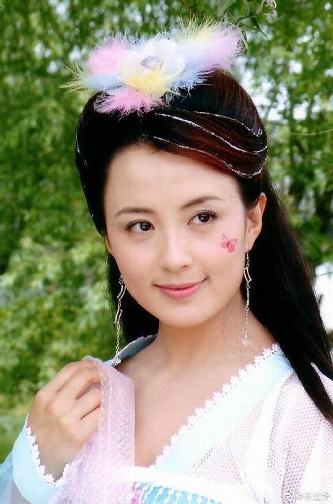 楊童舒曾演出賈靜雯版的《武媚娘傳奇》。(圖/翻攝自楊童舒微博)
