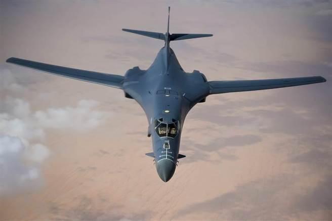 美軍B-1B轟炸機。(圖/美國空軍)