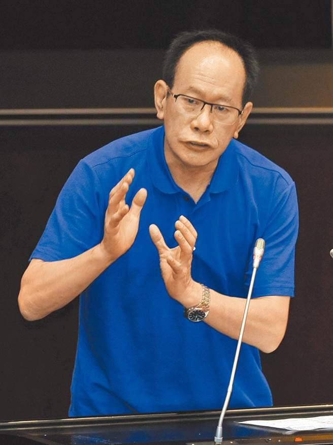 立委陳超明。資料照片