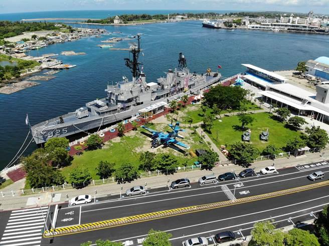 安平區的德陽艦附近,是台南市政府推薦觀賞國慶焰火的地點之一。(台南市觀旅局提供/程炳璋台南傳真)