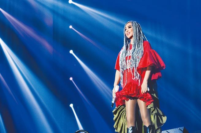 阿妹昨宣布將在台東舉辦跨年演唱會。(EMI提供)
