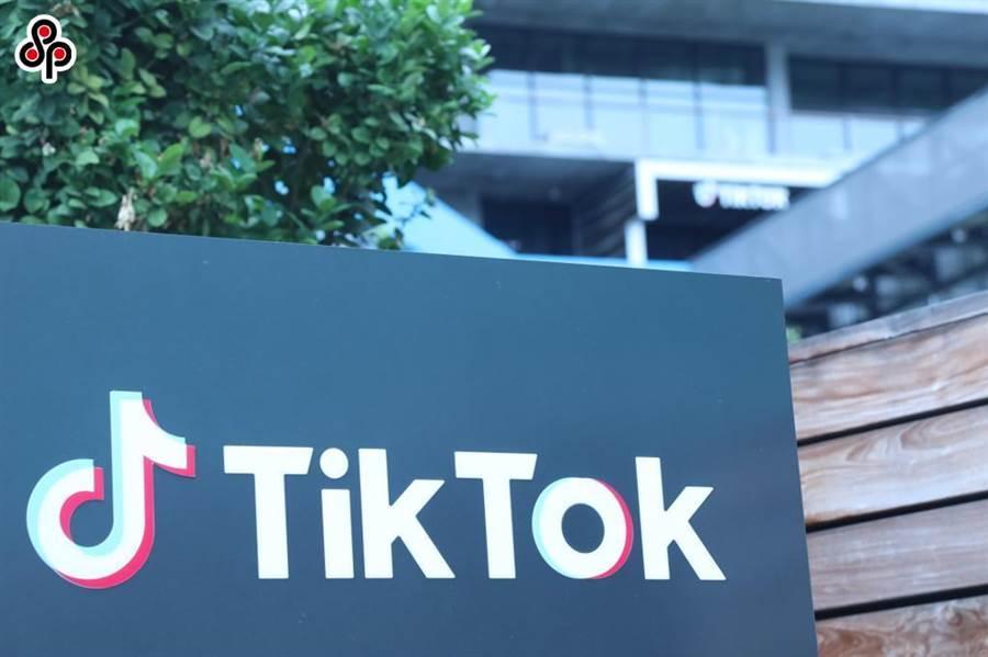 《環球時報》社評稱國際社會需打破對美國明搶TikTok的沉默。圖為8月21日在美國加州洛杉磯郡卡爾弗城拍攝的TikTok公司標誌。(新華社)