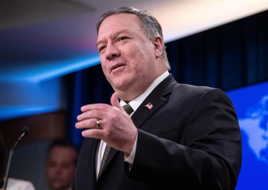 比美國國務卿蓬佩奧首次公開指控陸駐紐約領事館其實窩藏大量間諜,並透露美還會逮捕更多陸特務。(美聯社)