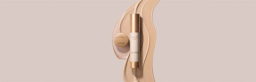 ETVOS金緻柔煥系列Luscious Skin Series產品形象圖。(ETVOS提供)