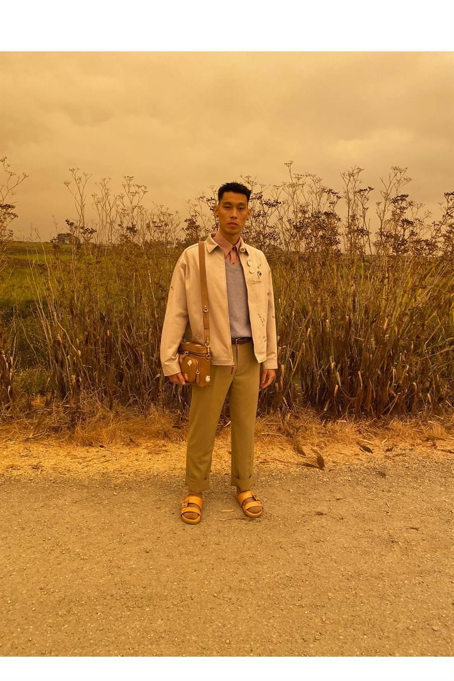 美國精品品牌Coach今年5月才驚喜宣布「台灣之光」林書豪(Jeremy Lin)成為品牌年度男士代言人!(圖/品牌提供)