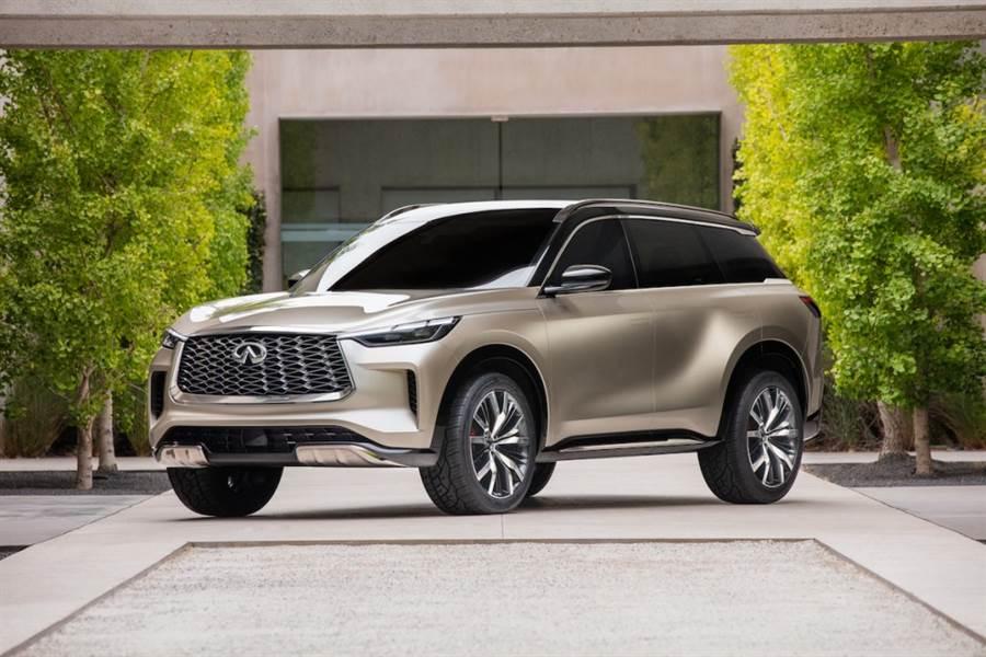 將傳統日本文藝融入三排七人座 SUV ,Infiniti QX60 Monograph 概念原型車日本橫濱發表、2021 量產