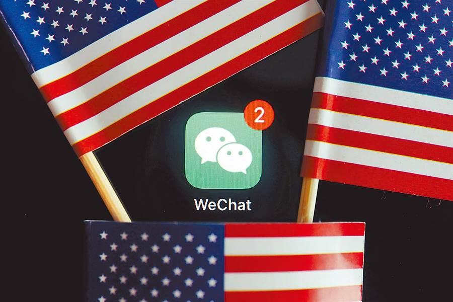 美國司法部打算用行政權迫使司法權讓步,放行封殺WeChat行政命令。(路透資料照片)