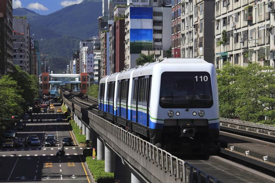 捷運是台北人主要的通勤工具,而今年初環狀線開通後,也引發民眾討論(示意圖/達志影像)