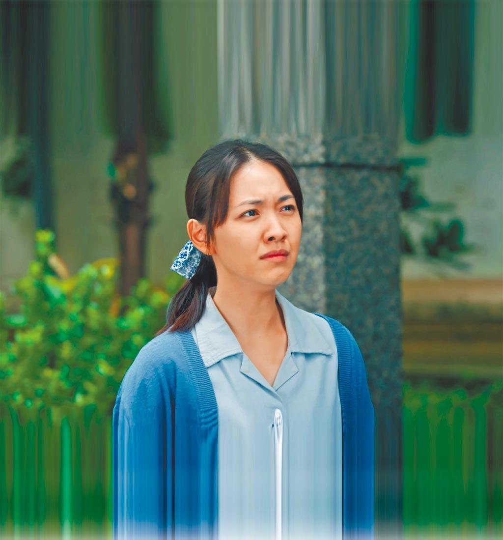 林玟誼在《苦力》中飾演刻苦耐勞的年輕寡婦秋月。(公視提供)