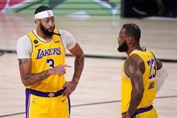 NBA》一眉哥踝傷無恙 湖人主帥保證G5必打