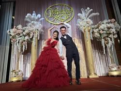 SBL》蔣淯安台中完婚超有趣 老婆坐轎子進場