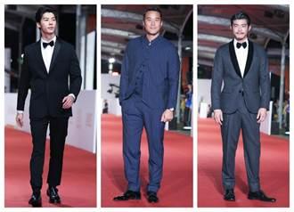 《金鐘紅毯》男星紅毯造型  黑的酷 「色一點」也好帥