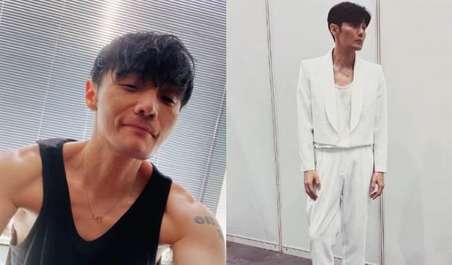 李榮浩一個月甩肉8公斤。(圖片來源:IG@lironghao85)