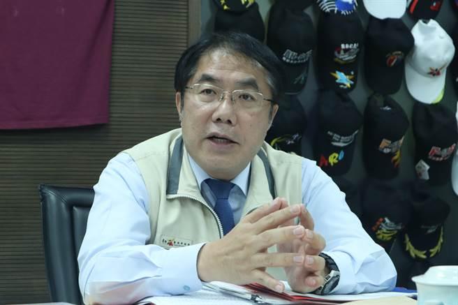 台南市長黃偉哲。(資料照/李宜杰攝)