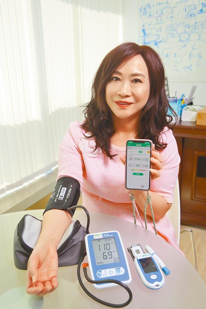 醫療物聯網為民眾的診療帶來改變。(張鎧乙攝)