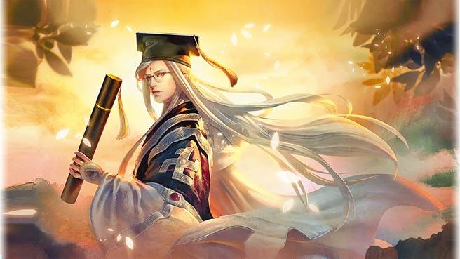 《群侠来了》教师节限定角色「学士俏如来」。(金光多媒体提供)
