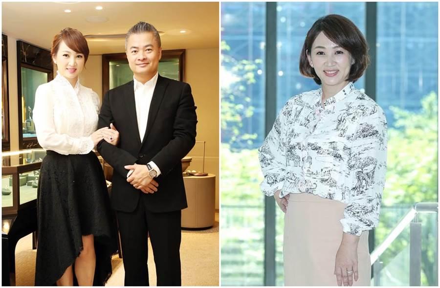 郁方與老公陳昱羲結婚14年,是著名的模範夫妻檔。(圖/本報系資料照片)