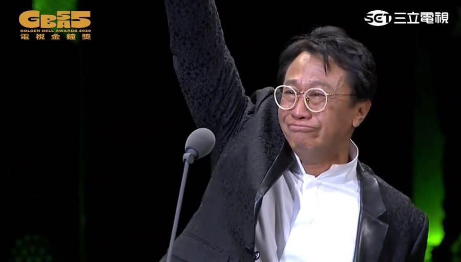 游安順以新創電影短片《大吉》拿下「迷你劇影帝」。(圖/YOUTUBE@廣播電視金鐘獎 Golden Bell Awards)