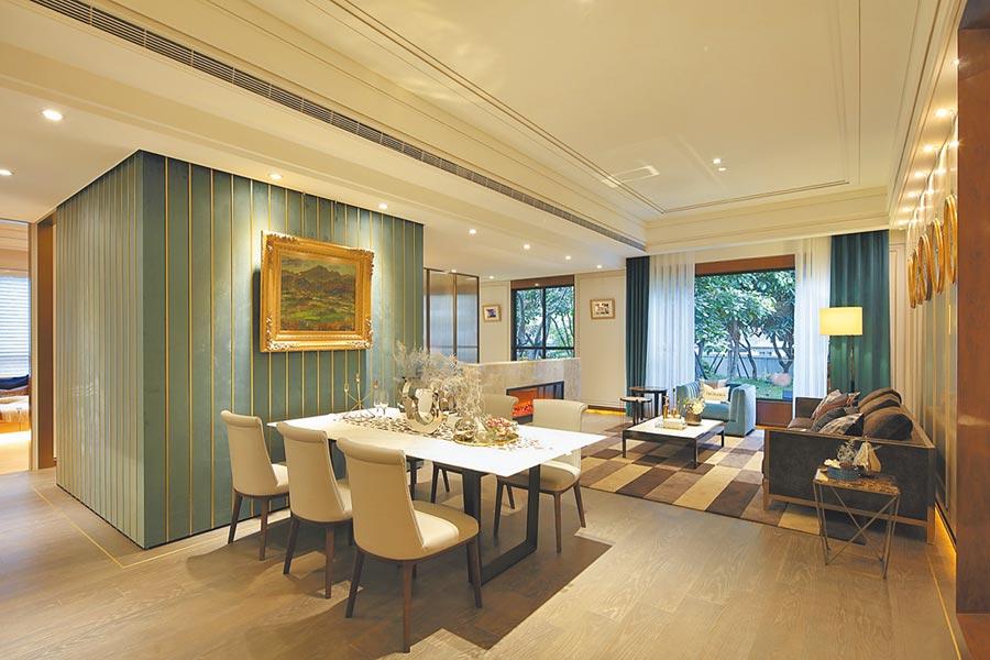 豪宅客群青睞無地主戶產品,「帝璽」因此獲得大瓏企業董事長劉惠珍家族買進8戶。(創意家提供)