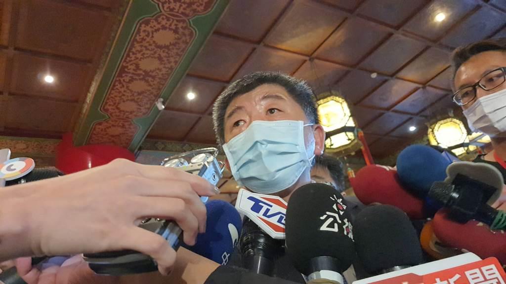 台灣拒絕陸製疫苗?陳時中:過去就規定不能引進。圖為衛福部長陳時中。(陳人齊攝)