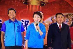 南屯水安宮王爺聖誕 盧秀燕向市民報告市政成果