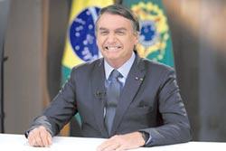 巴西總統人氣疫外高
