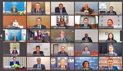 APEC視訊財長會 蘇建榮談減債