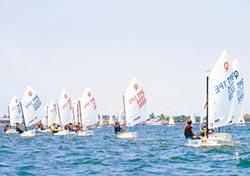 百艘帆船熱鬧開航 點亮大鵬灣