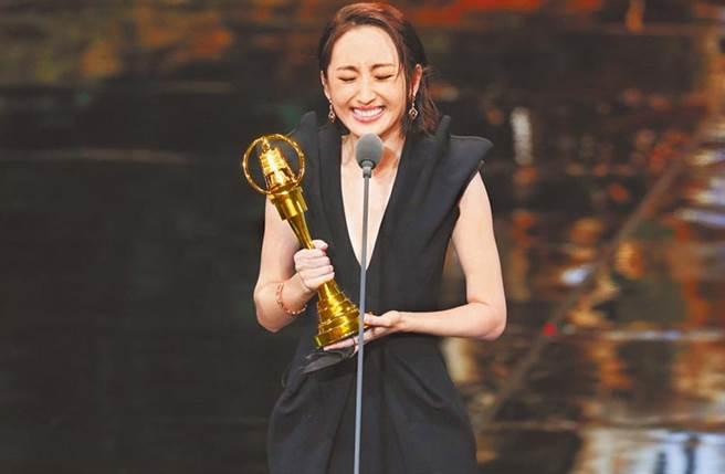 柯佳嬿以《想見你》傑出表現二度獲得金鐘獎戲劇節目女主角獎。(中時資料照)