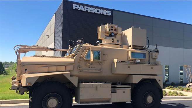 帕森斯公司將以當年的雷射除雷原型車為基礎,量產同型的裝備。(圖/Parsons )