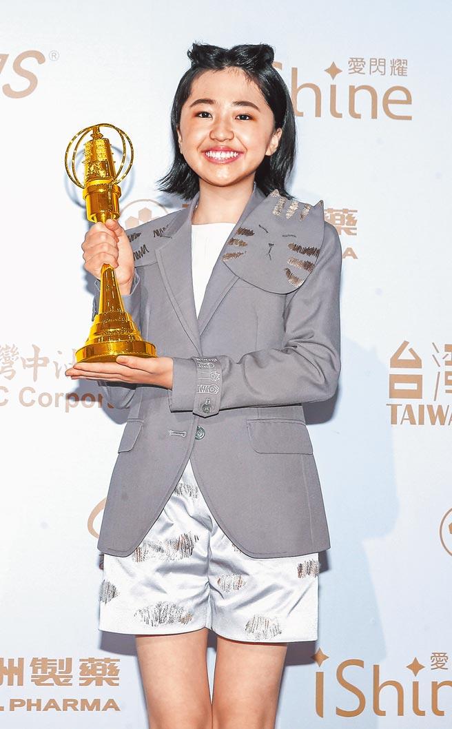 白小櫻昨獲新人獎,特別感謝對手演員謝欣穎幫助她入戲。