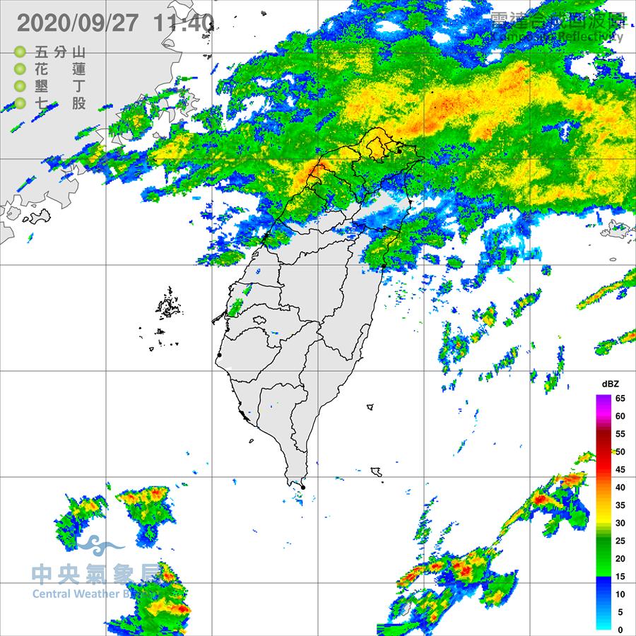 雨下不停!氣象局發布北北基大雨特報