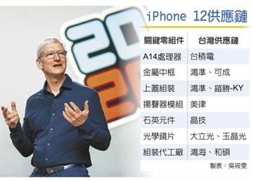 新iPhone倒數 蘋概動起來 台積電、玉晶光、鴻準等業績將受惠