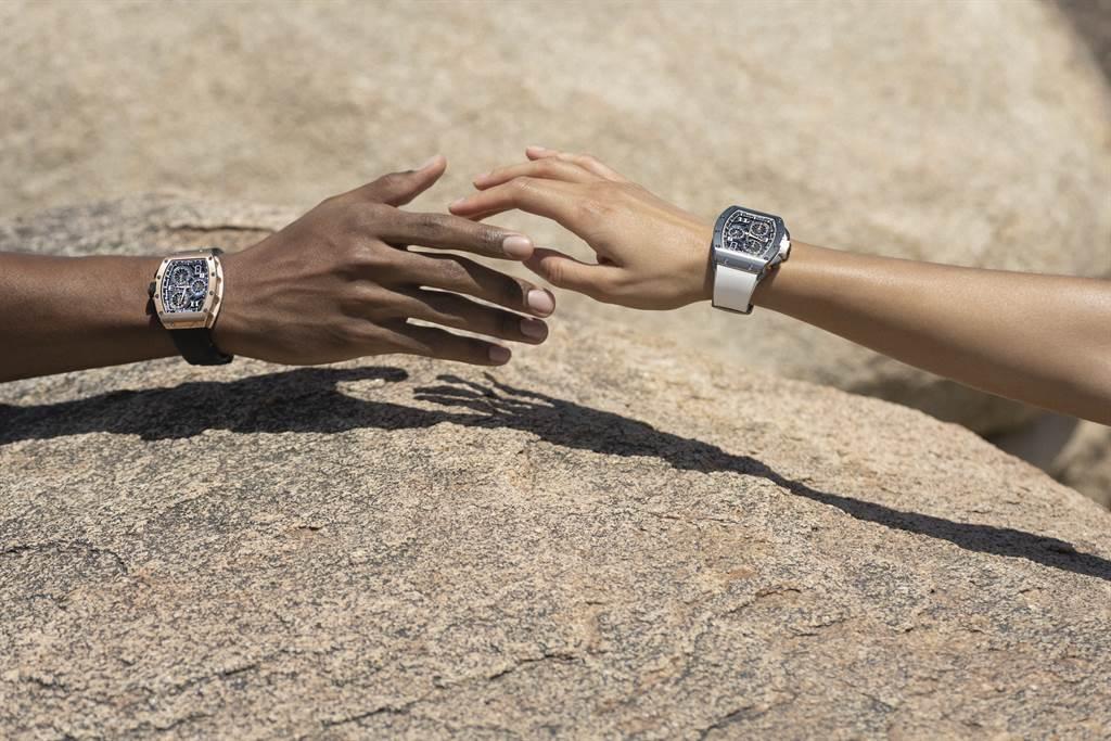 RICHARD MILLE全新RM 72-01 Lifestyle自製機芯計時碼錶/RICHARD MILLE提供