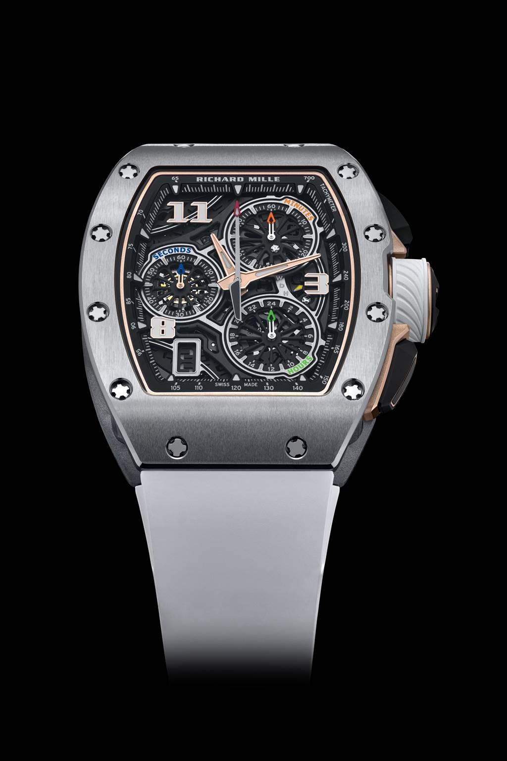 RM 72-01鈦合金錶殼款式/RICHARD MILLE提供