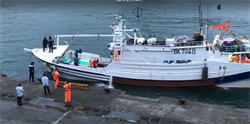 蘇澳漁船遭日巡視船撞破船艏 凌晨安全返港日方拒回應