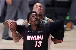 NBA》阿德巴約領熱火摘勝晉級 將與湖人爭冠