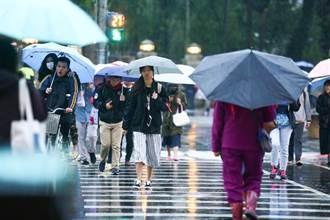 東北風+華南雲雨區東移!北北基大雨特報