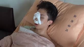 孫安佐住院開刀「咳出血痰」憔悴樣曝光 女友阿乃守候照顧