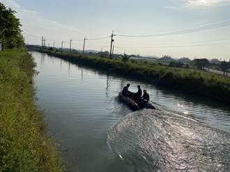 2名7旬老翁晨泳 雙雙溺斃嘉南大圳消防人員打撈上岸