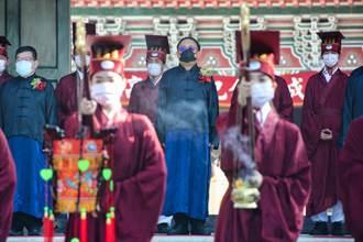 韓國瑜去年親自祭孔 陳其邁今年缺席