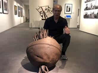高雄更名百年紀念 洪龍木獨特鐵雕驚艷眾人