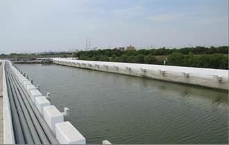 高雄永安北溝排水整治 養殖管線收納超整齊