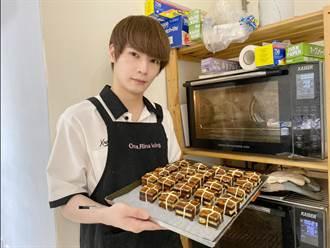 古曜威親做東坡肉造型月餅 意外湧入千顆訂單