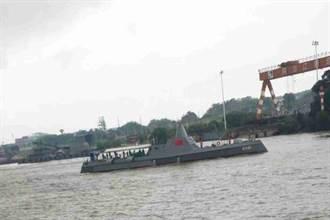 陸最新無人艦艇首曝光 被指模仿美軍朱瓦特超級戰艦