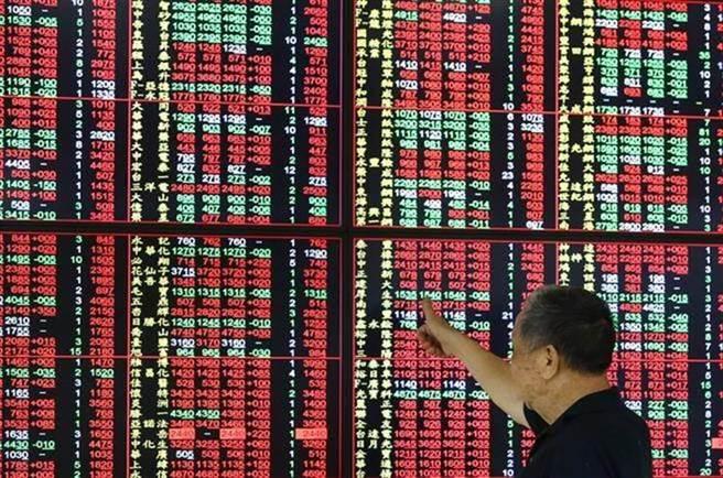 台股28日收漲逾200點。(圖/中時資料照)