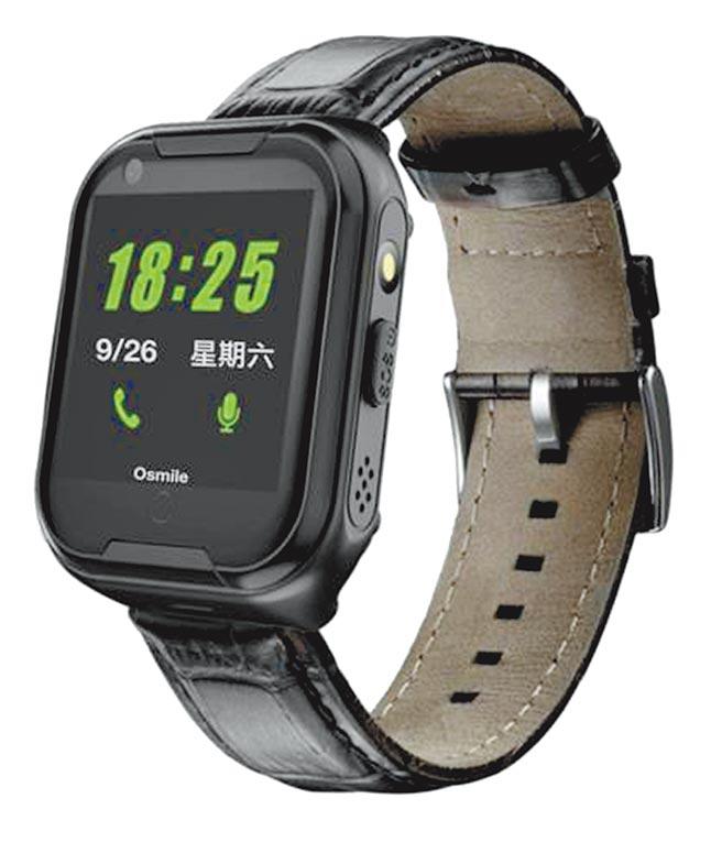 Osmile GPS失智老人防走失定位手表,4999元起。(Osmile官網)